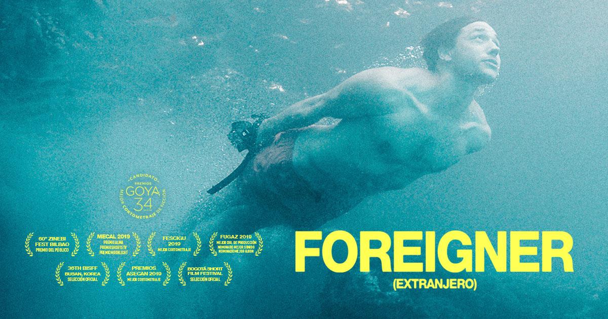 Foreigner (Extranjero) · Un cortometraje de Carlos Violadé